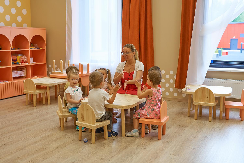 Фото детей садика франшизы Binny
