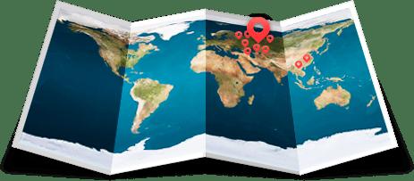 Карта садиков