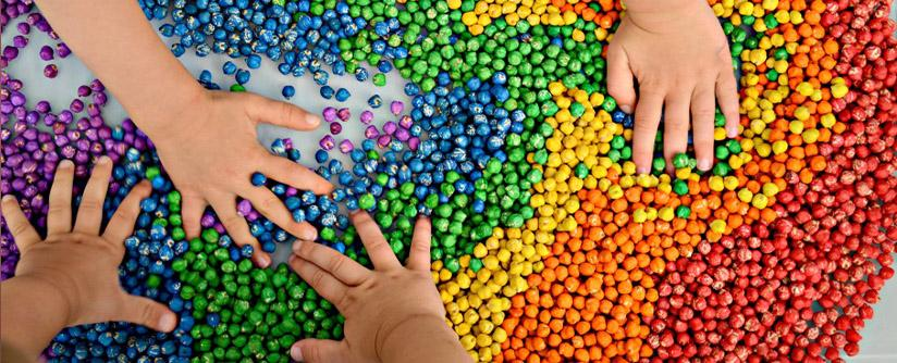 Сенсорное развитие детей в детском саду